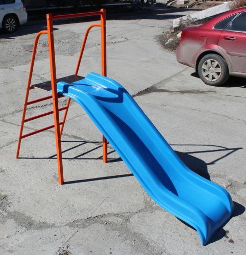 Горка пластиковая высота  80 см